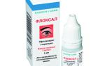Глазные капли Флоксал: описание, противопоказания, применение