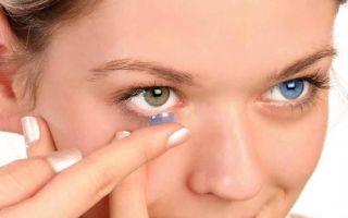 Линзы видны в глазах: это действительно так, заметны ли