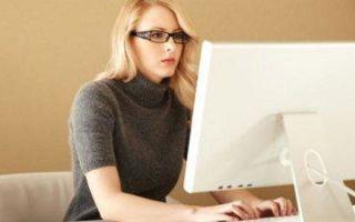 Помогают ли очки для работы за компьютером