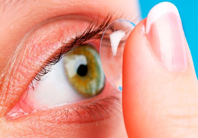 Аллергия на линзы и раствор для линз