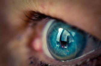 Что делать, если линза не прилипает к глазу