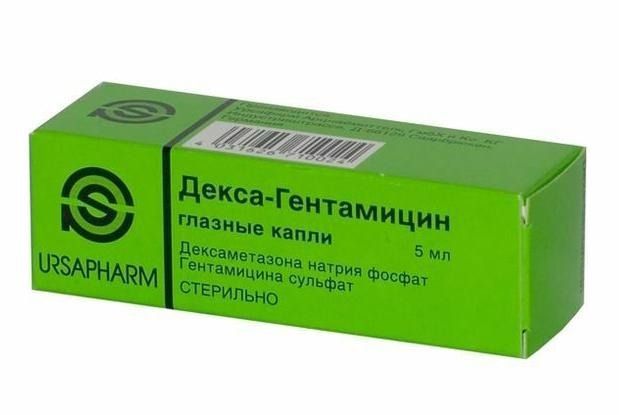 Декса-Гентамицин - инструкция по применению, показания и противопоказания