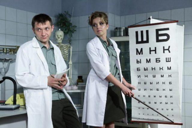 Таблицы для проверки зрения у окулиста