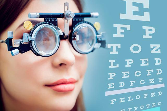 Проверить зрение онлайн по таблице на компьютере - лучшие тесты!