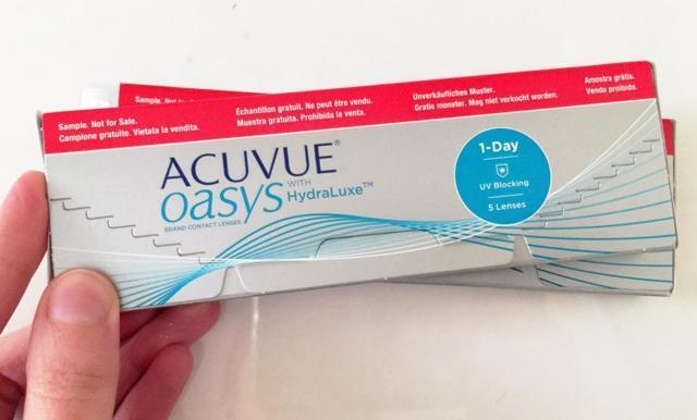 Контактные линзы acuvue: описание, применение, преимущества