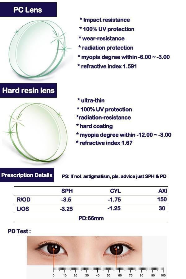 Рецепт на очки - расшифровка, условные обозначения, правила подбора