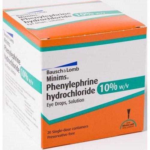 Фенилэфрина гидрохлорид - что это такое: описание, состав, показания