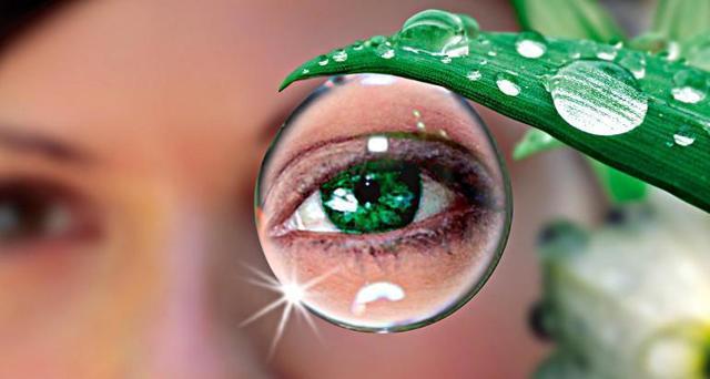 Глаукома: лечение народными средствами, упражнения для глаз