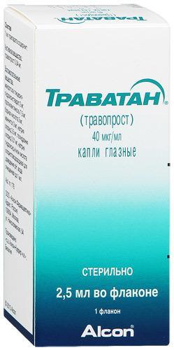 «Траватан» - глазные капли: показания и противопоказания, дозировка