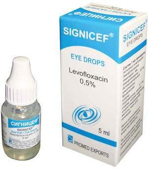 Глазные капли Сигницеф: подробное описание препарата