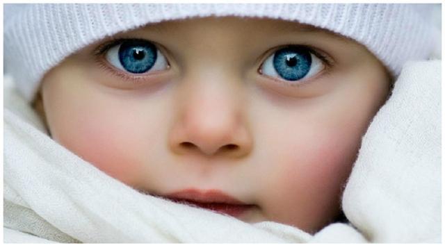Какие глаза будут у ребенка - таблица и как ее использовать!