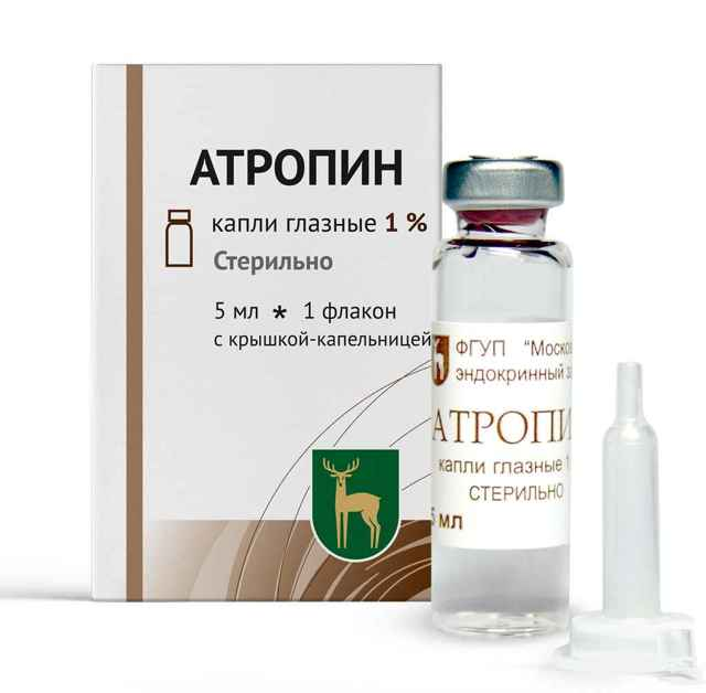 Глазные капли Атропин: описание, применение, противопоказания