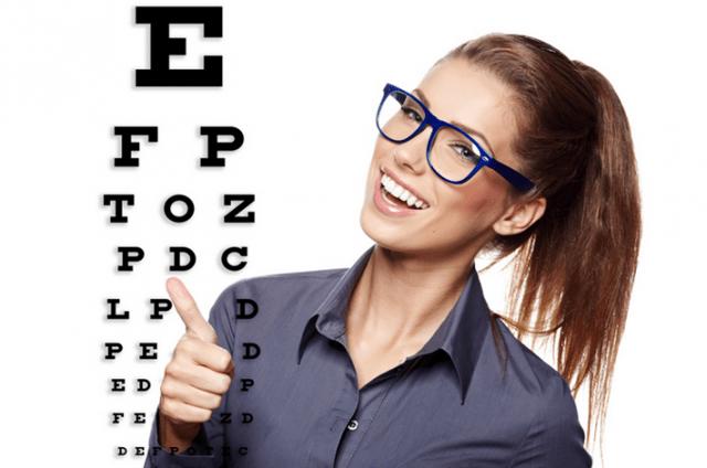Буквы для проверки остроты зрения