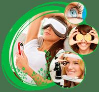 Массажер для глаз: виды, производители, стоимость