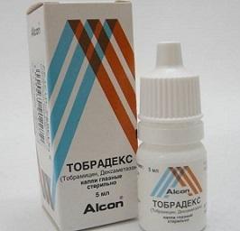 Глазные капли Тобрадекс: описание, противопоказания, применение
