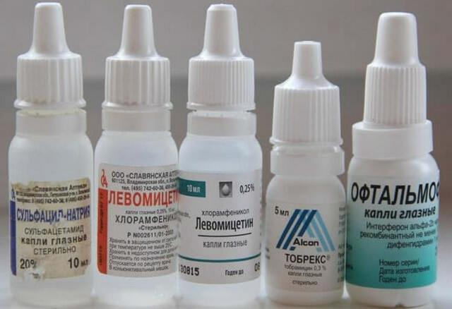 Левомицетин - капли глазные: показания к применению и инструкция