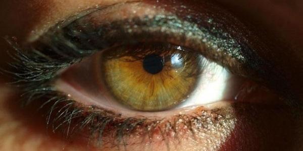Темное пятно в глазу, когда смотришь - что это может быть?