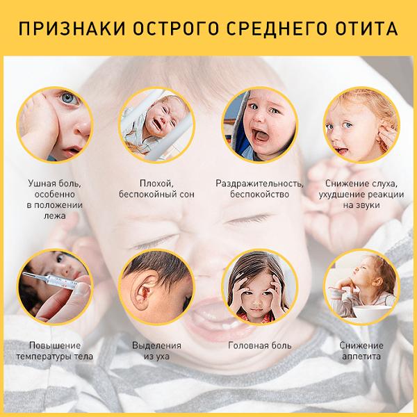 Серозный отит среднего уха: лечение
