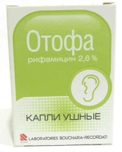 Ушные капли Отофа: инструкция по применению