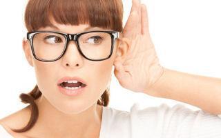 Причины ухудшения слуха: лечение и профилактика