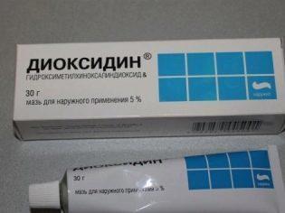 Диоксидин в ухо: инструкция по применению